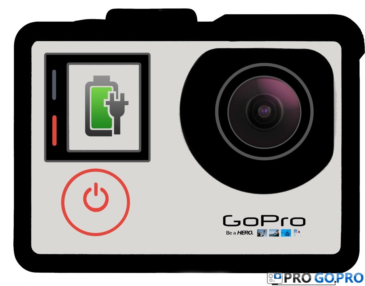 Как правильно заряжать камеру GoPro
