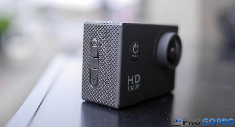 кнопки управления камеры SJCAM SJ4000