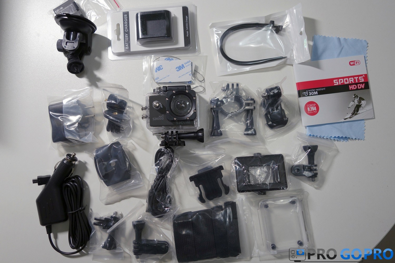 комплектация экшн камеры SJCAM SJ4000