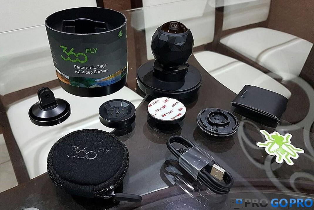 комплектация камеры 360fly