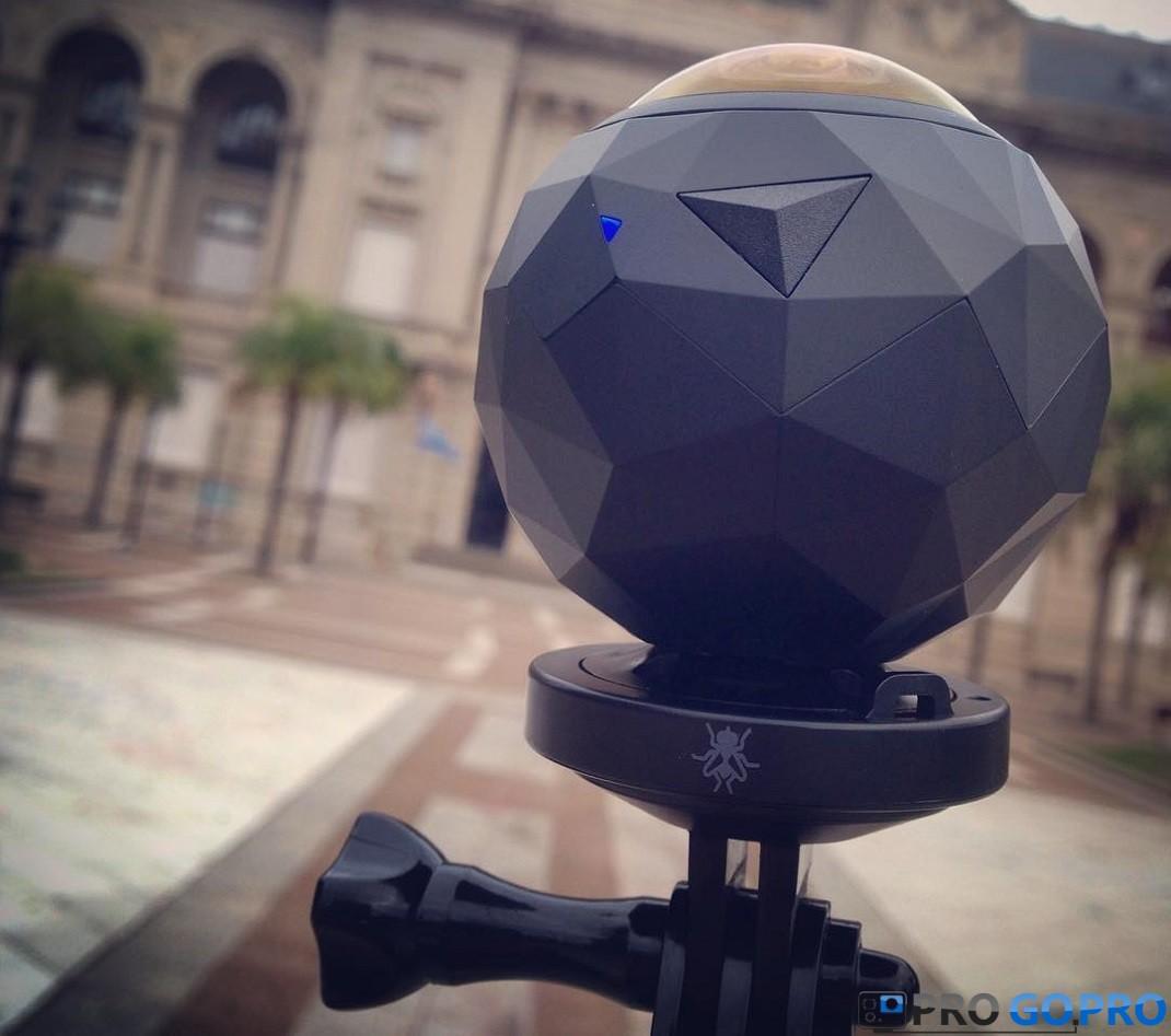 сферическая оболочка камеры 360fly