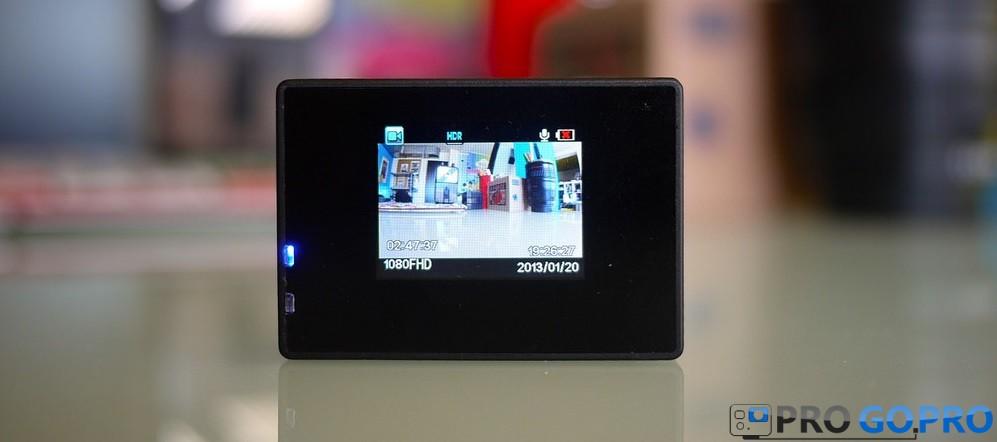 экран камеры SJCAM SJ4000