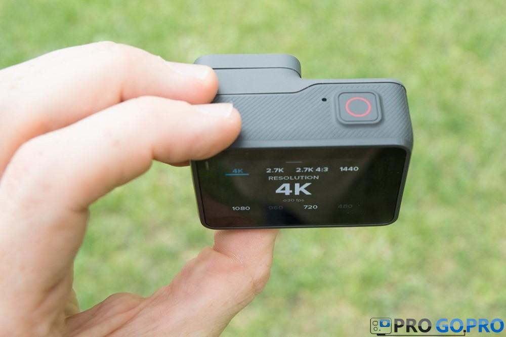камера GoPro Hero5 Black верхний микрофон