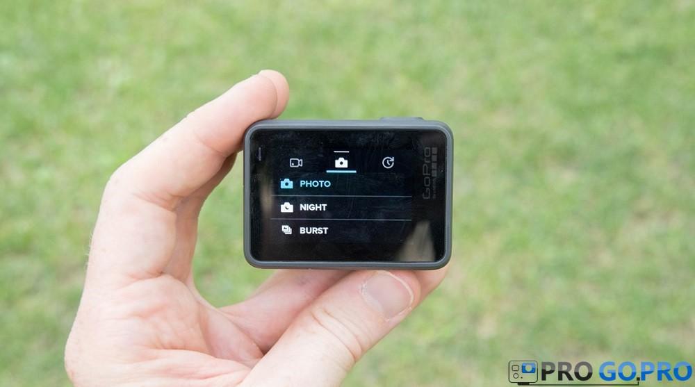 GoPro Hero5 Black режимы настройки