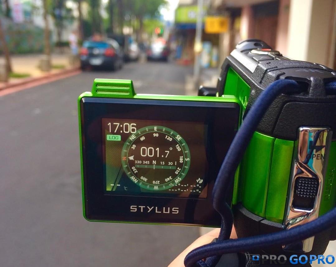 Датчики экшн камеры Olympus TG-Tracker