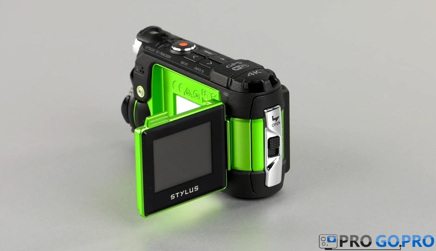 Дисплей экшн-камеры Olympus TG-Tracker