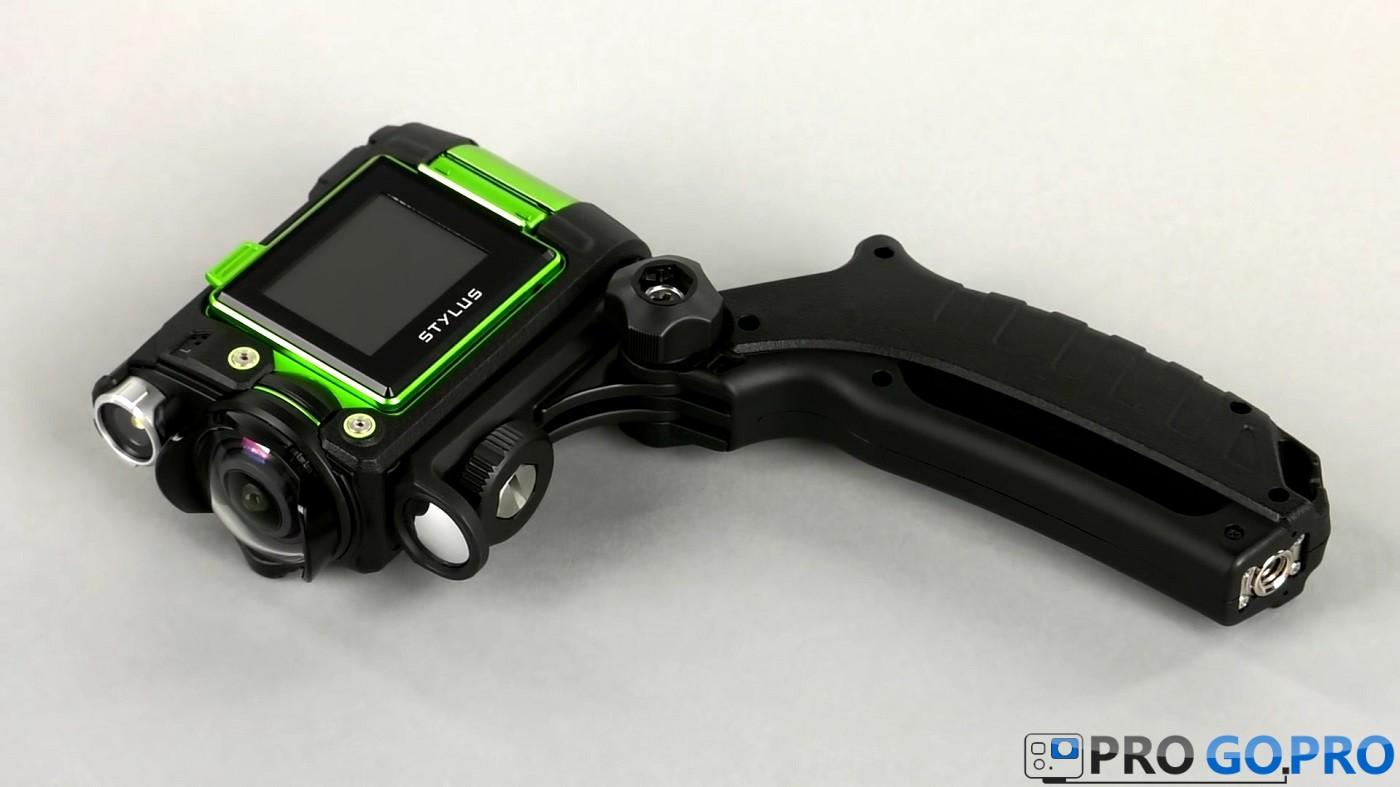 Неповторимый дизайн экшн камеры Olympus TG-Tracker