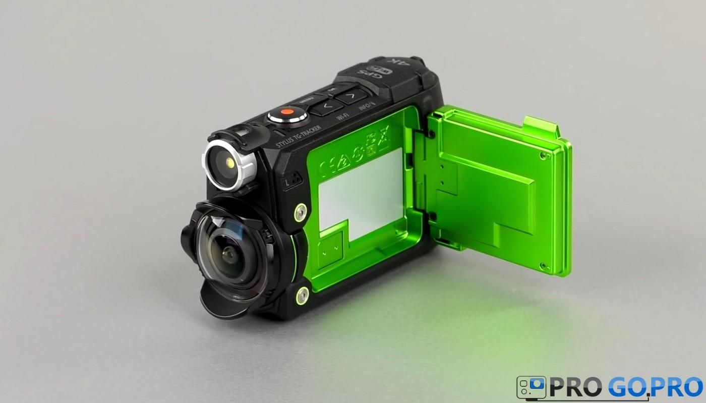 фонарик экшн-камеры Olympus TG-Tracker