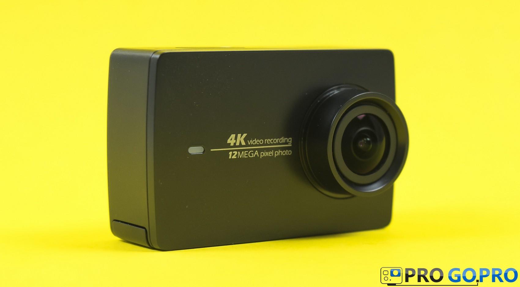 Обзор экшн камеры Xiaomi YI 4K