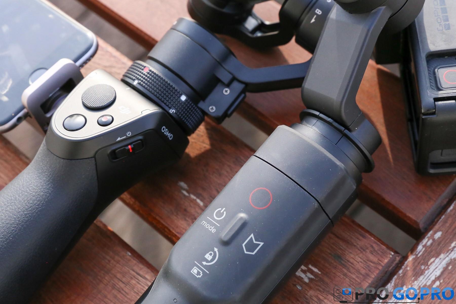 Кнопки управления DJI Osmo и GoPro Karma Grip