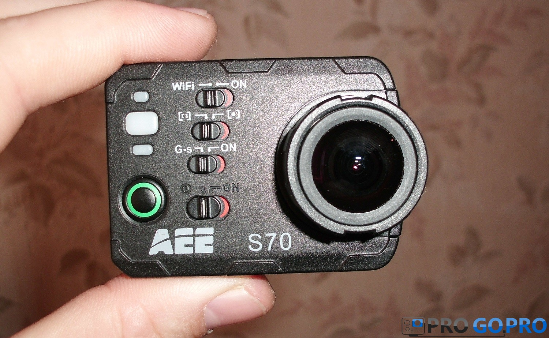 Отзыв об экшн камере AEE S70