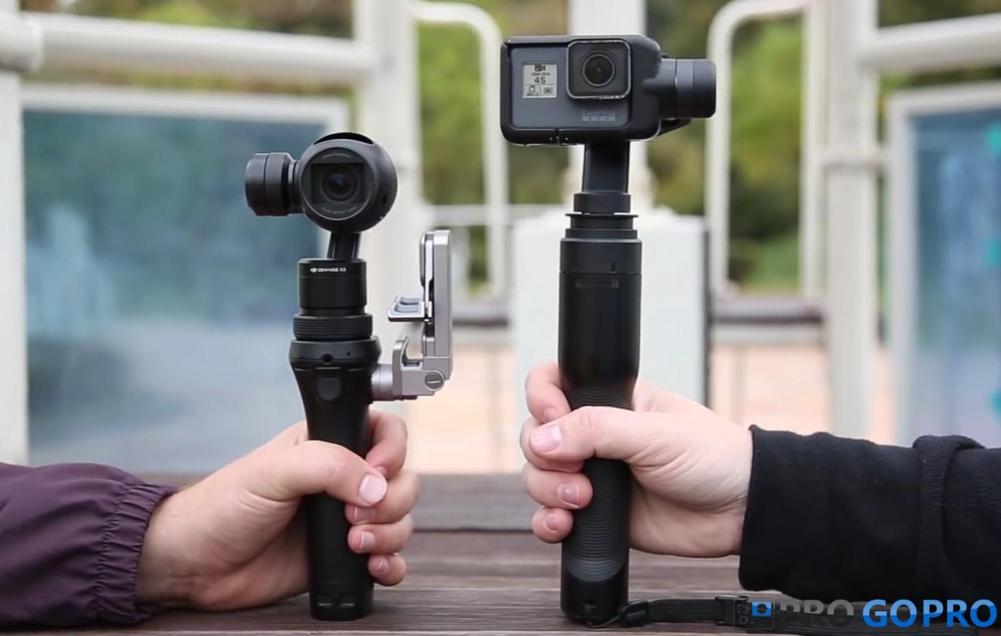 DJI Osmo против GoPro Karma Grip: Сравнение двух электронных стабилизаторов