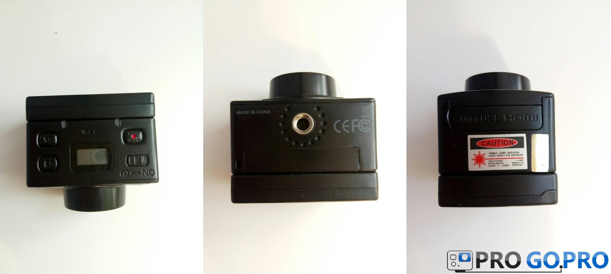 экшн камера AEE Magicam SD21 со всех сторон